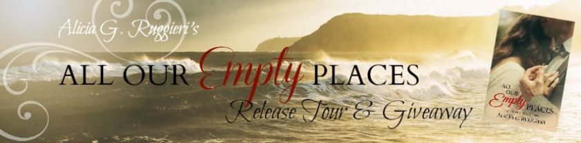 Release Tour banner - All Our Empty Places