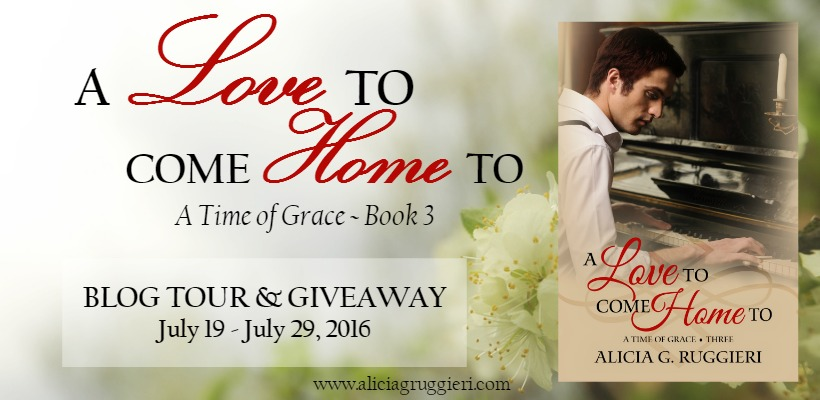 A Love to Come Home To blog tour header