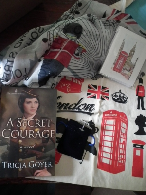 Tricia Goyer prize pack I won