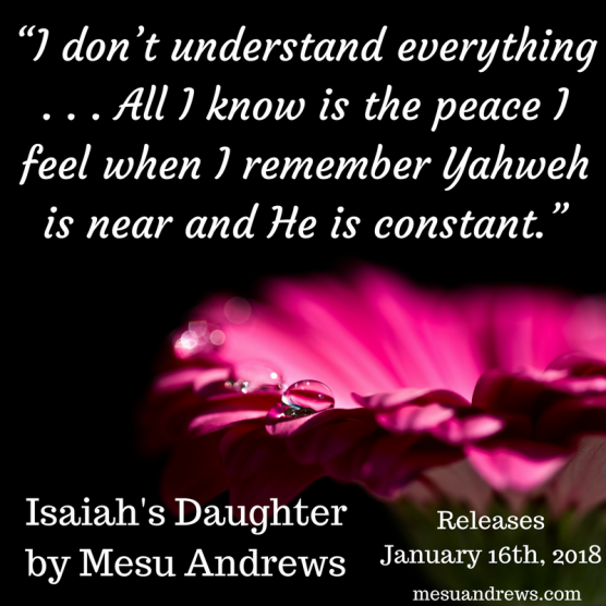 Mesu Andrews Isaiah's Daughter memes