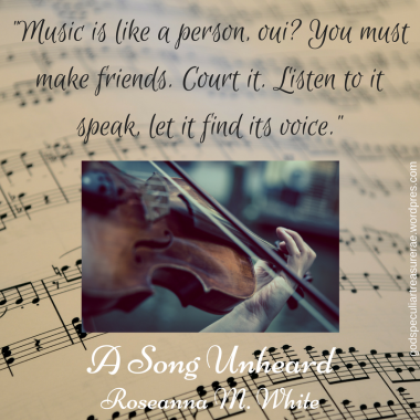 _Music is like a person, oui_ You must make friends. Court it. Listen to it speak, let it find its voice._