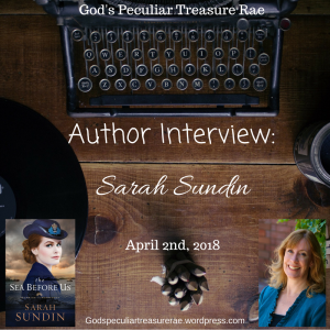 Sarah Sundin interview